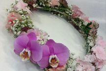 Ihana kukkanen pääkranssit