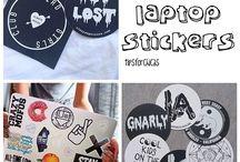 Must diys  / Tumblr computer stickers