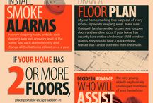 Fire Safety / Develop a family fire escape plan to ensure your family's safety.  / by Rainbow International