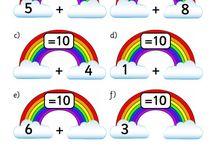 Første klasses matematik