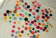 Flowers/Bloemen / Gehaakte bloemen