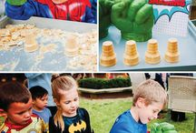 Birthday party - Superhero birthday