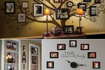 Wall of family