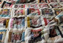 Tied quilts