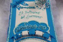 Torta Vincenzo battesimo
