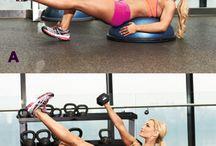 bosu workouts / by Jennifer Cowell
