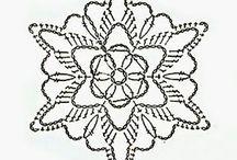 Christmas crochet - Snowflakes