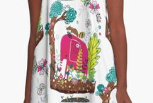 Aline Dress / High quality A-Line Dresses by independent artists and designers from around the world.  The A-Line Dress offers a huge canvas to showcase the things you love. It's all-over-printed, loose-fitting, and many other hyphenated adjectives we'll save for next time.