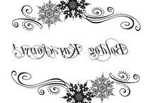 Karácsony magyar felirat transfer