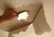Knockdown textured ceiling bubbling while painting in Rockledge,Fl