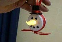 *Christmas ☆ Winter Inspiration / DIYs, Decor, Quotes... Etc. / by Linda Diane Martinez-Fenley