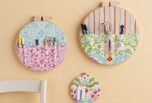 Embroidery Hoop Art - Sew Boxes