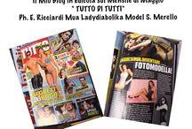 """IN EDICOLA / Articoli , Interviste , Redazionali , relativi al Blog """" DIVENTARE FOTOMODELLE"""""""