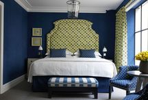 Be Bold with your headboard to make a statement bedroom / Create a statement bedroom and be bold in your choice of headboard. You can really reflect your personality and create a haven you won't want to leave!