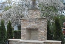 Outdoor Fireplace / by Nicole McCaulley