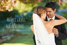 svatební chystání