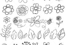 Drawing: Flowers