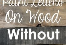 wood sign craft