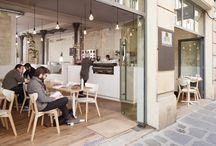 Interior design - Restaurants / Cafés