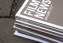 Print Design / Wir lieben Gedrucktes - Magazine, Broschüren, Plakate