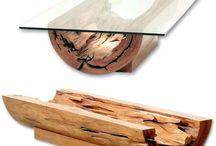 Decoración con madera