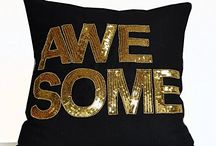 Awesome cushion cover