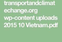 Climate change and sustainable transport in Vietnam