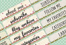 Free Sidebar Titles / by Carolynn Reynolds