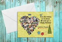 Holiday Cards / Holiday Cards, Christmas Cards, New Years Cards, Thank You Cards