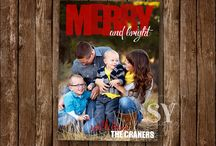 Christmas Photo Cards / Christmas cards that are customizable with your own family photos