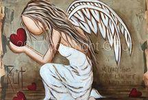 andelky malované