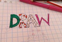 Draw / Lekker tekenen