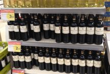 Retail Shelving - Wines & Spirits display shelving / shop shelving / wall shelving / Gondola shelving / supermarket shelving / home wares display / diy shelving display
