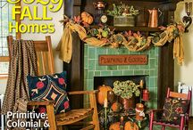 From our September 2015 Issue / Our September 2015 issue features all of the autumn decor and inspiration you need to wrap your home in the comforts of country this season!  / by Country Sampler Magazine