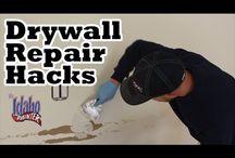 Interior Wall Repair Tips / by The Idaho Painter