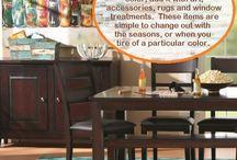 here's a tip... {design} / by Schneidermans Furniture