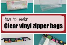 vinyl zipper bags