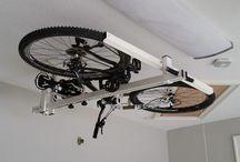 Rower - przechowywanie