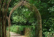 Steel archway/pergola/gazebo