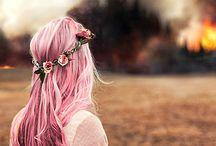 cabellos coloridos