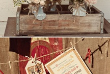 Rustic Christmas - Ideas / Must-haves to create a rustic Christmas window in our store...