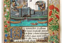 Illustration - Manuscripts / vintage illustrations, manuscripts