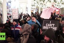 #ICantBreathe / Protesters take to streets after Eric Garner decision