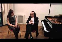 Classical Piano Music and Performers / Videos of interviews with various pianists and my music too :-)