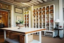 Organization | Craft Room / Ideas for when I get my own Craft Room. / by Susan McFadden