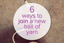 Knitting tips / Knitting tips