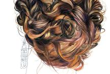 Copics - hair / by Erin Remple