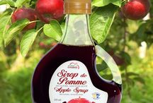 Apple Syrup ! / A surprising product of the apple!! The syrup of apple is an incredible sweetener. But WARNING, The syrup of apple sweetens one and a half time more that the white sugar. You thus can used a smaller quantity.