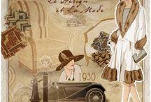 Imagens - Femininas / Pintura, ilustração e arte decorativa