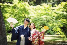 kimono style photo / 和装での写真たち